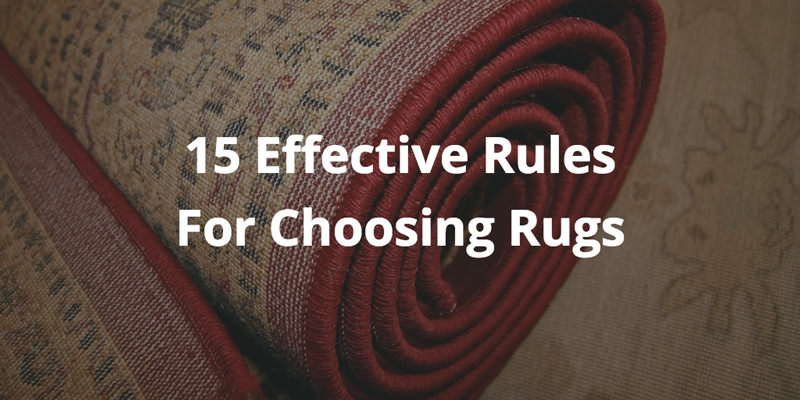 15 Rug Decorating tips