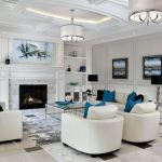 48 Living Rooms with White Furniture (Sofas and Chairs)