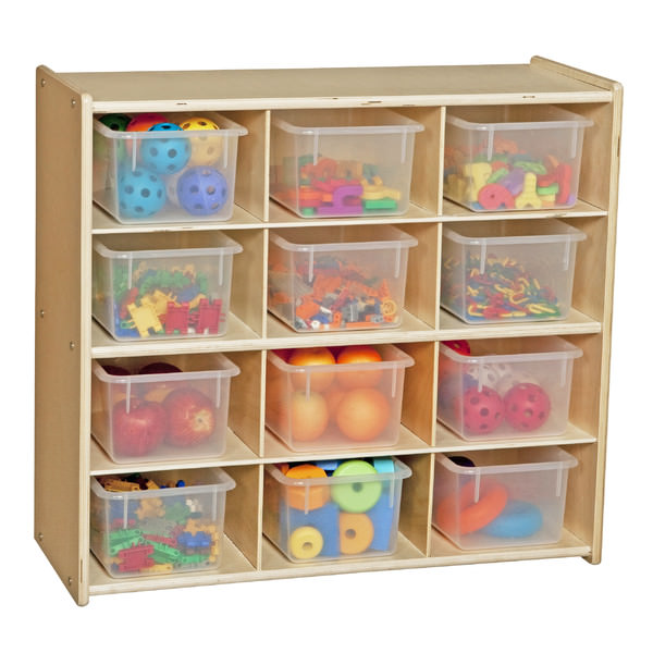 Beau 4b Way Plastic Drawer Style Toy Organizer