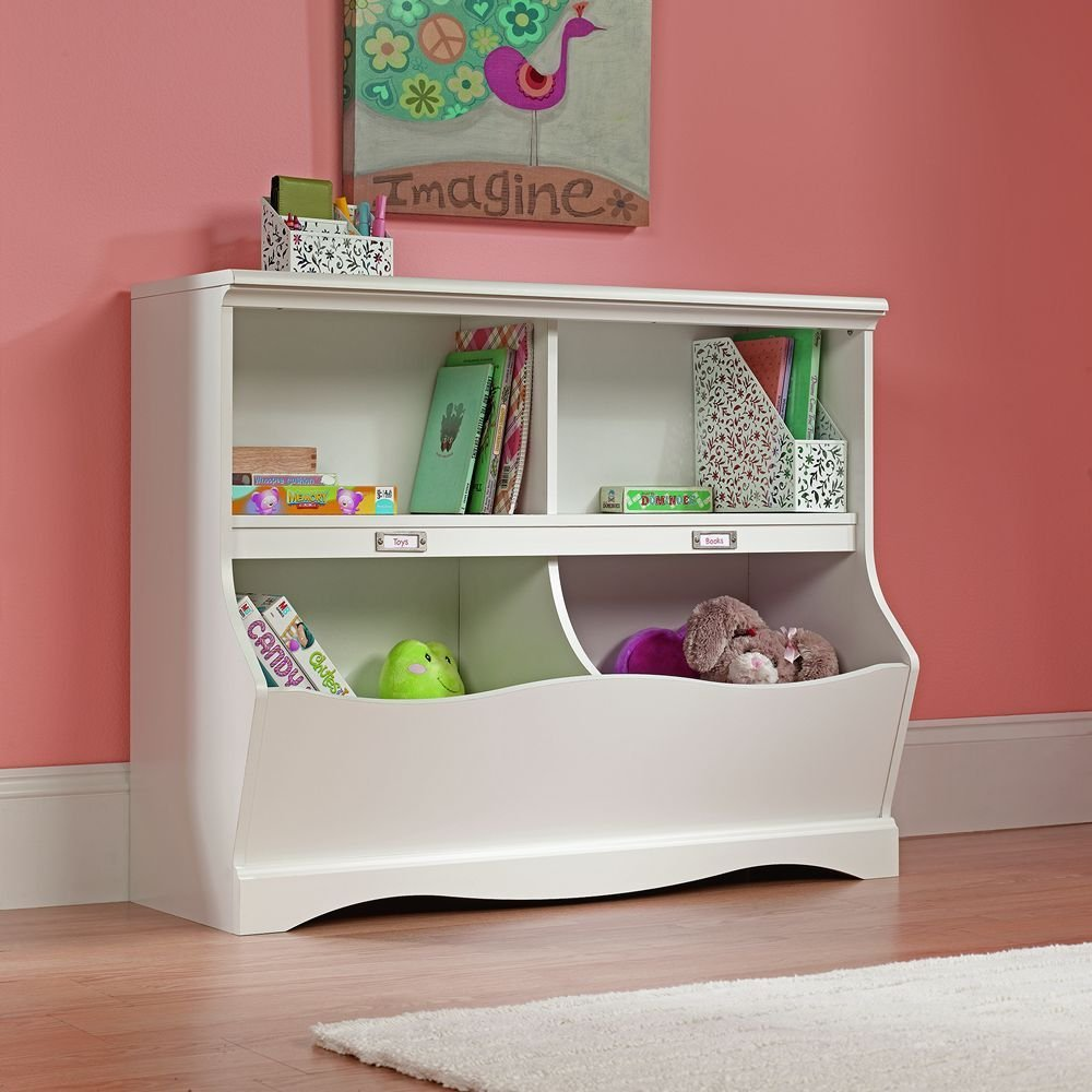 Shelf style toy storage organizer & 10 Types of Toy Organizers for Kids Bedrooms and Playrooms