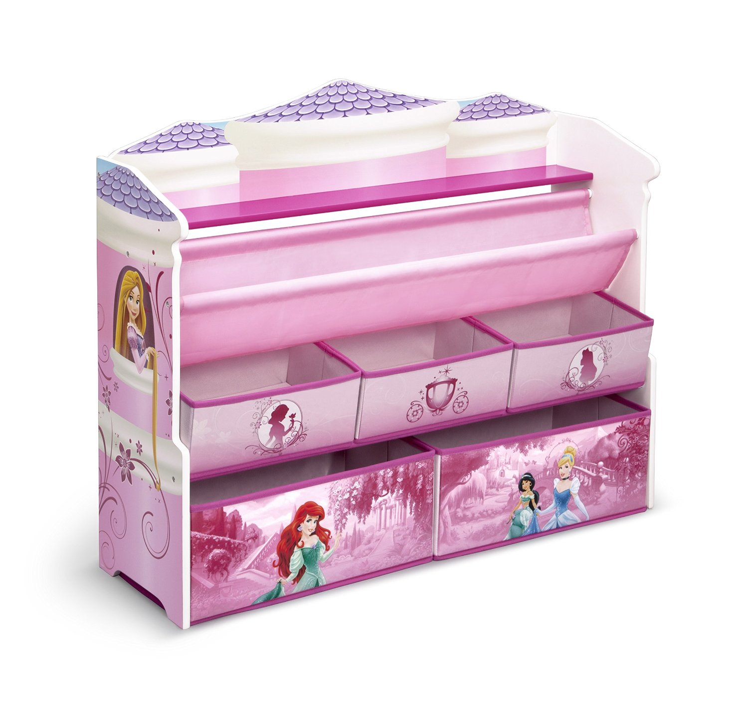 Disney Princess Toy Organizer  sc 1 st  Home Stratosphere & 10 Types of Toy Organizers for Kids Bedrooms and Playrooms