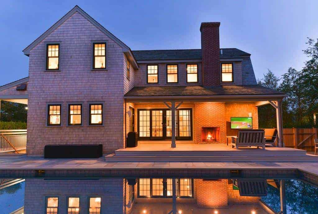 Two-House Compound with Pool on Nantucket