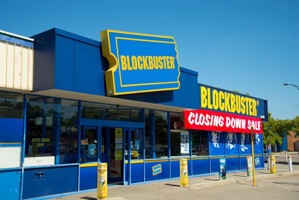 Blockbuster store closing down