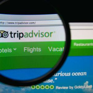 Screenshot of the TripAdvisor Website