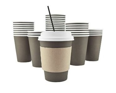 paper coffee cup with lid
