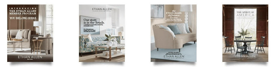 Ethan Allen Catalog Covers