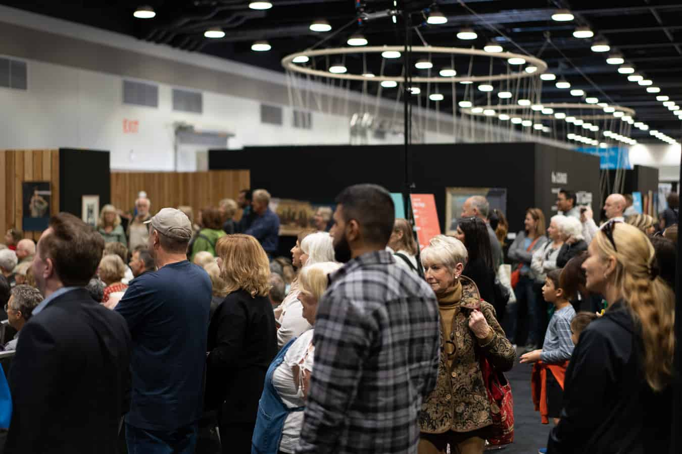 Crowd at the Vancouver Home Show