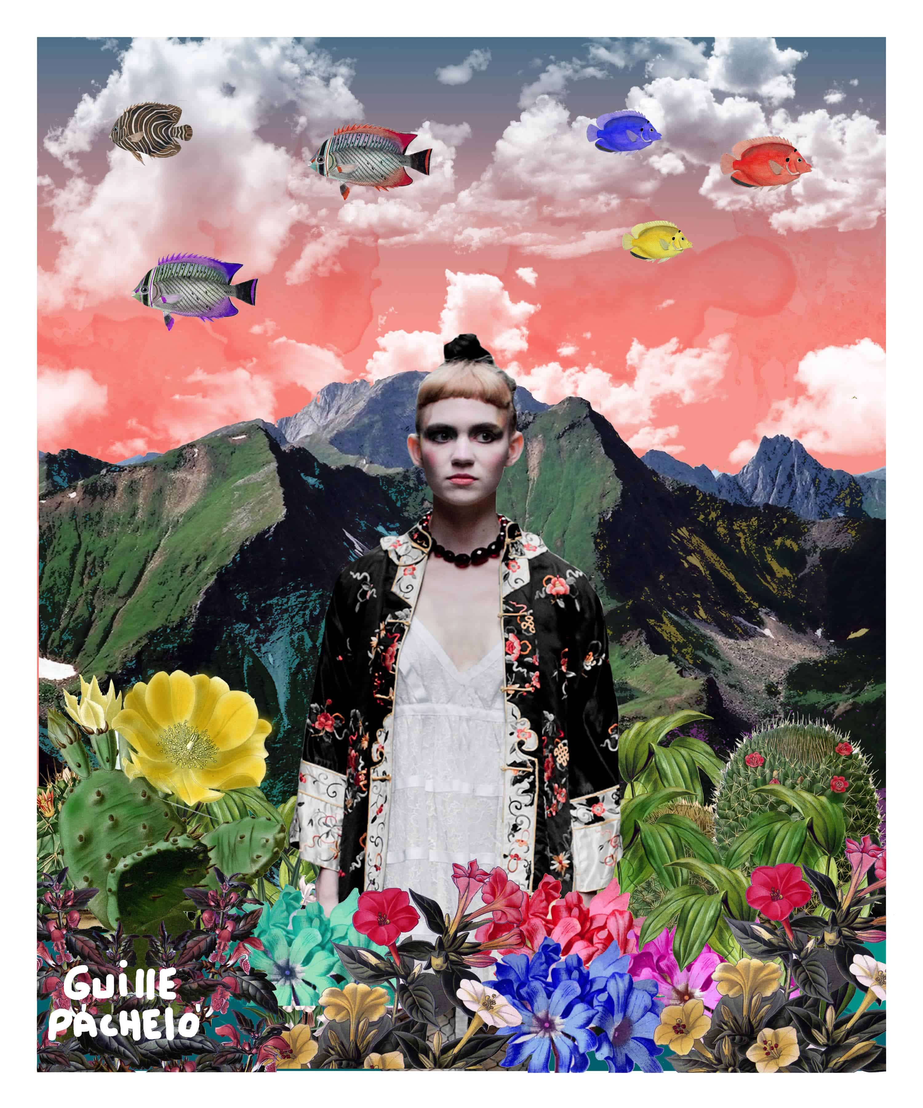 Example of digital collage art