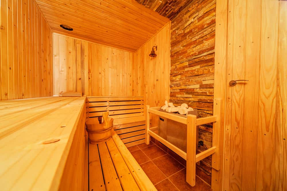 Example of a Finnish Sauna