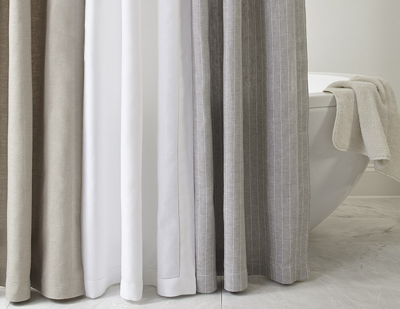 Provenza Italian Linen Shower Curtain