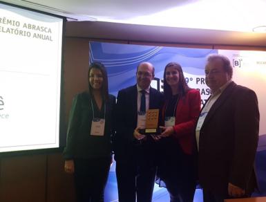 Relatório de Sustentabilidade da AES Tietê no 19º Prêmio Abrasca