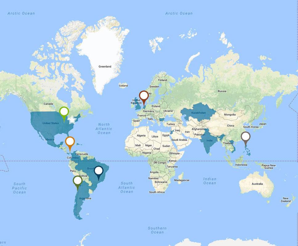 Mapa AES no crop