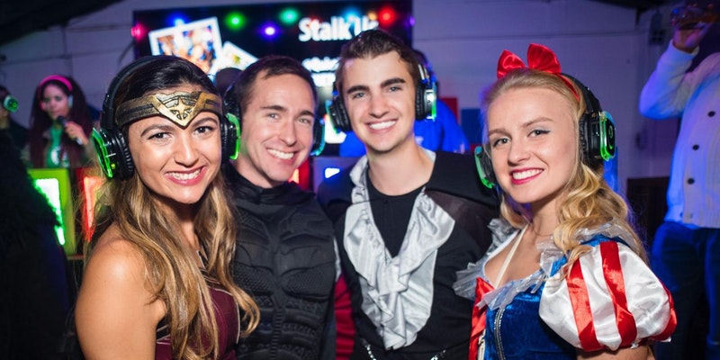 Superheroes and Princesses Silent Disco Party!