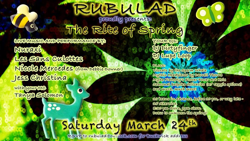 Rubulad Presents the Rite of Spring
