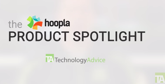 Hoopla Product Spotlight, TechnologyAdvice