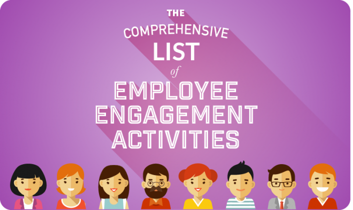 Title Graphic- A comprehensive list of employee engagement