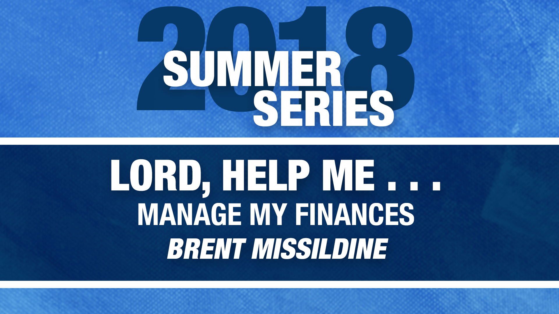 lord help me manage my finances hoover church of christ