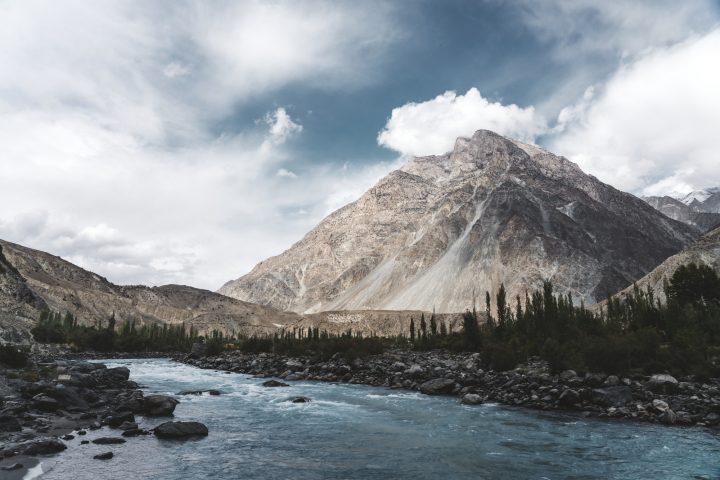 Beautiful Himalayas mountains in Pakistan