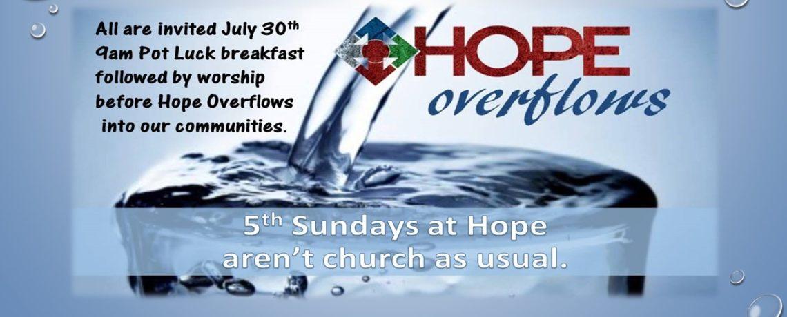 Hope Overflows