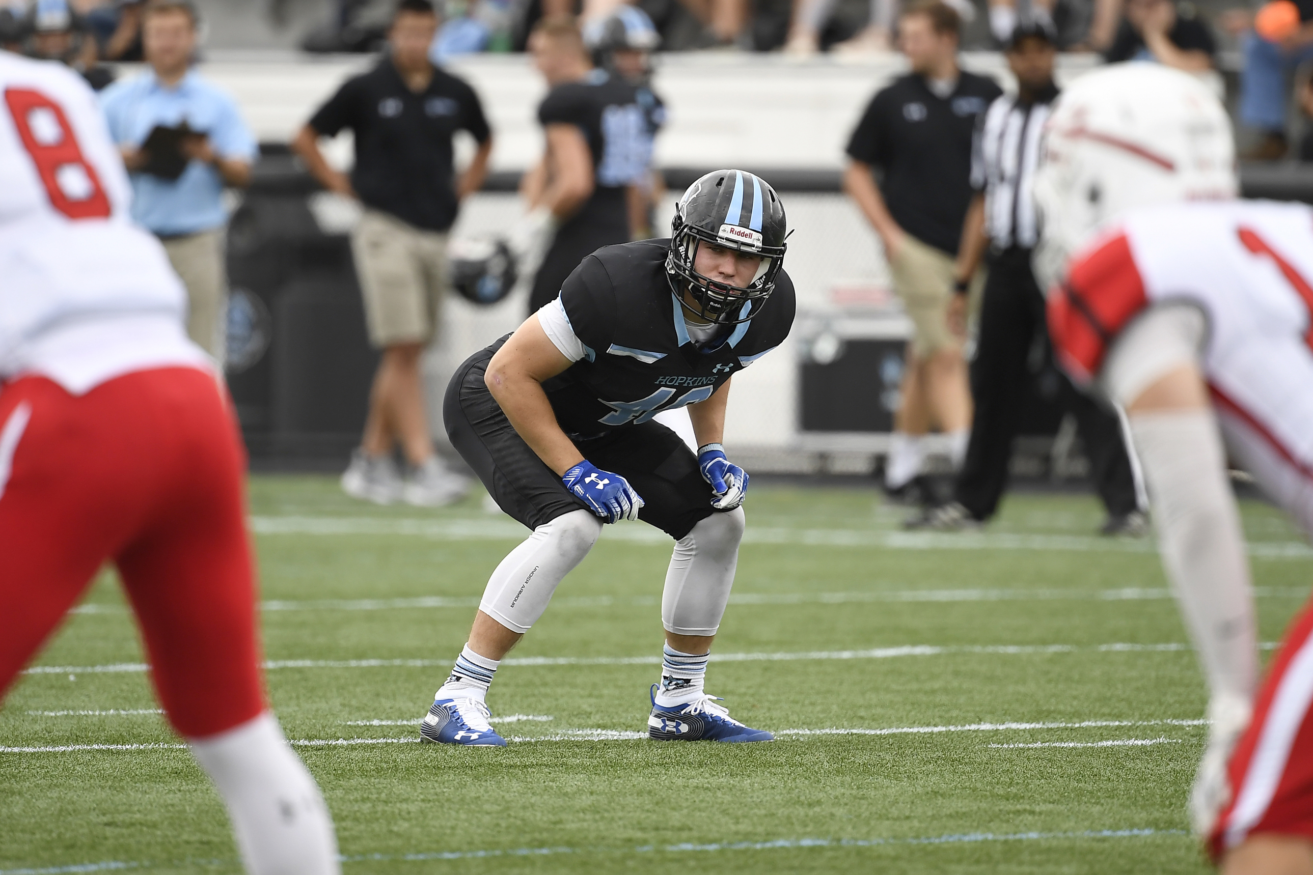 Ian Lodge Football Johns Hopkins University Athletics
