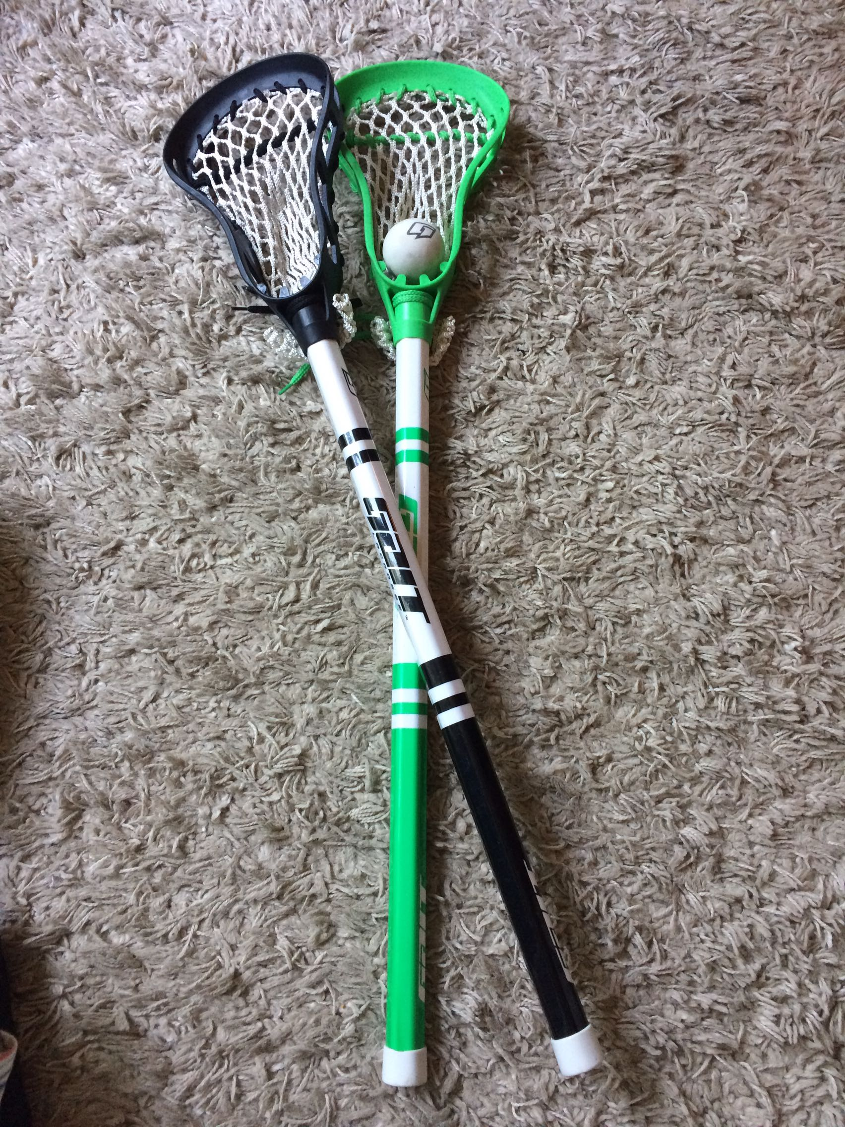 Lacrosse sticks and ball- Lowered price