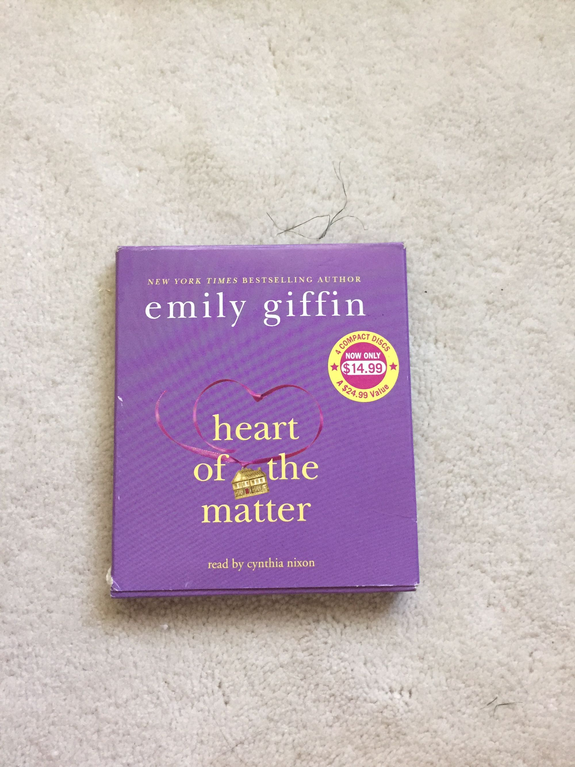 Heart of the matter audiobook by Emily giffin