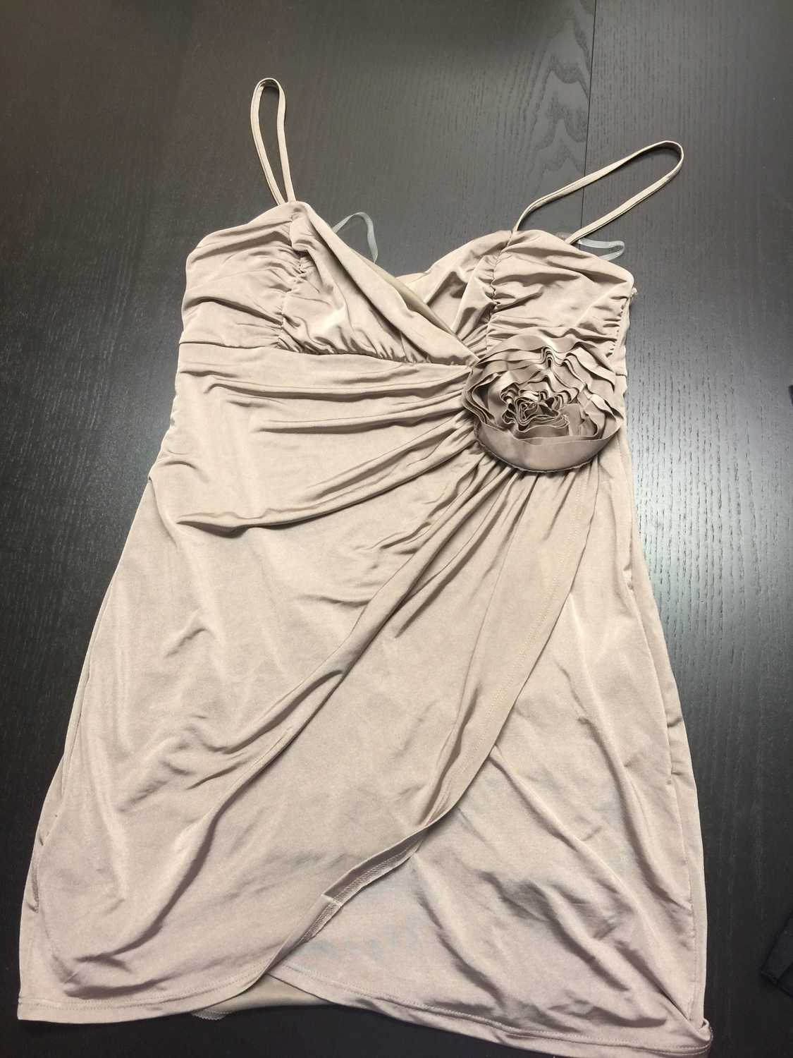 Forever 21 - taupe coloured stretchy top - medium