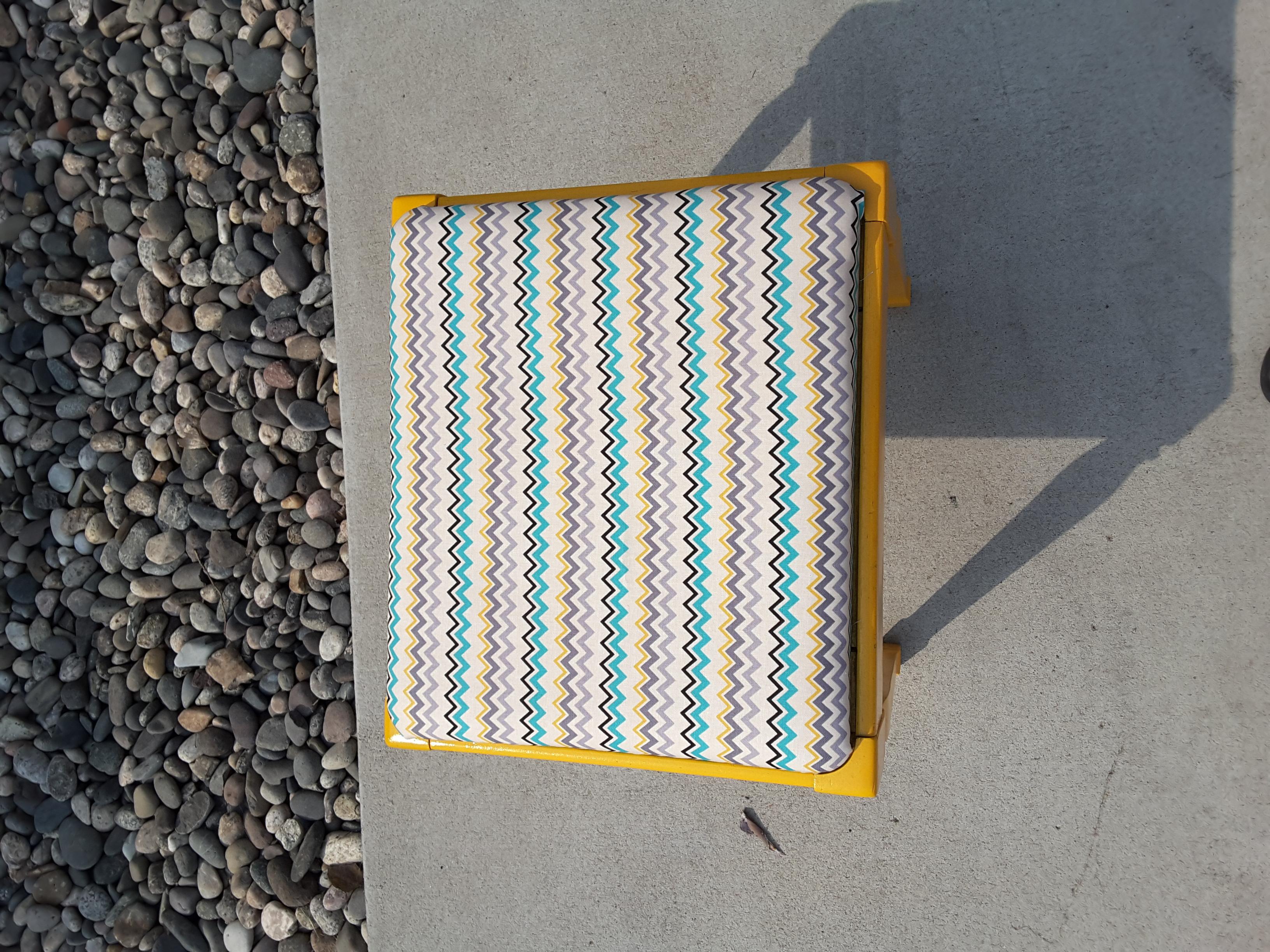 Refurbished stool