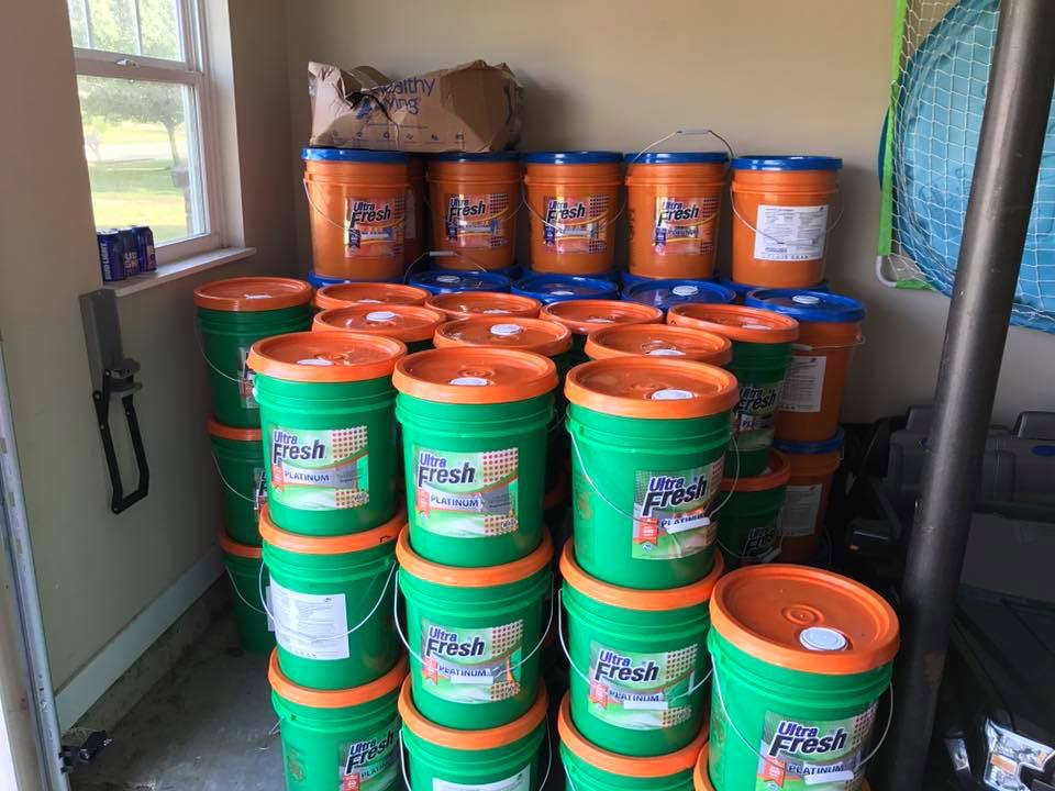 Laundry, Bath & Cleaning products BY THE BUCKET