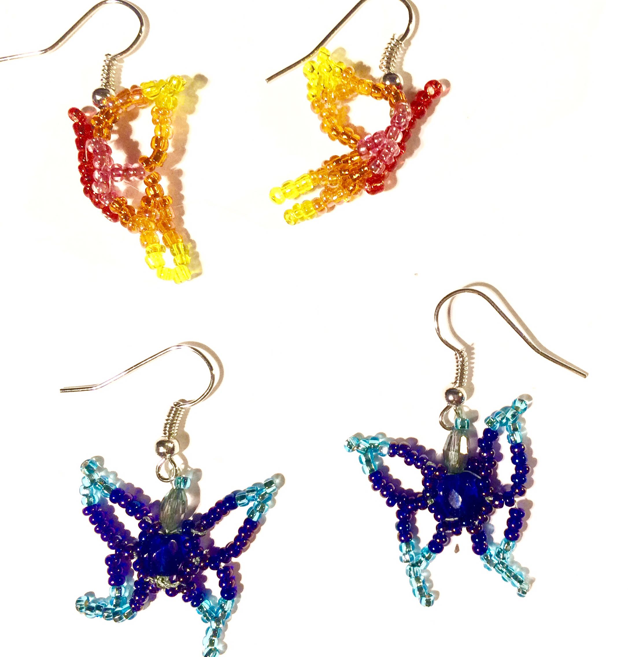 Beaded Butterfly Jewelry