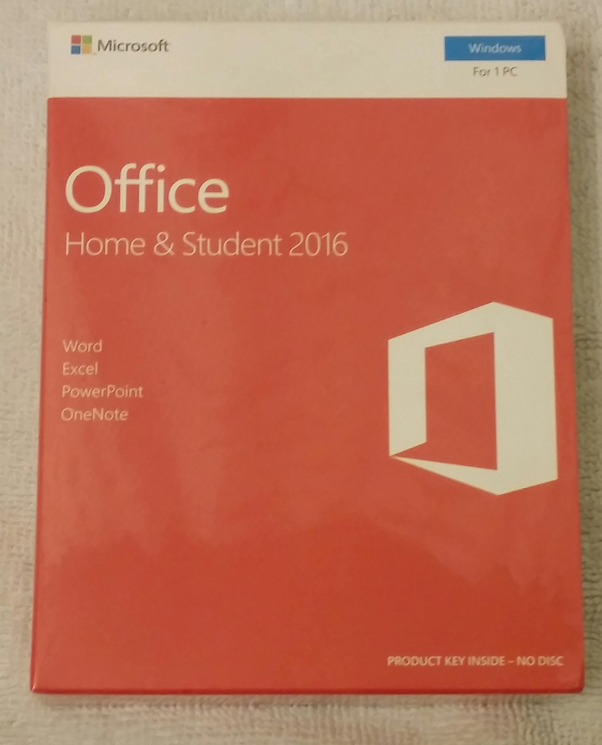 New & Sealed Microsoft Office Home & Student 2016