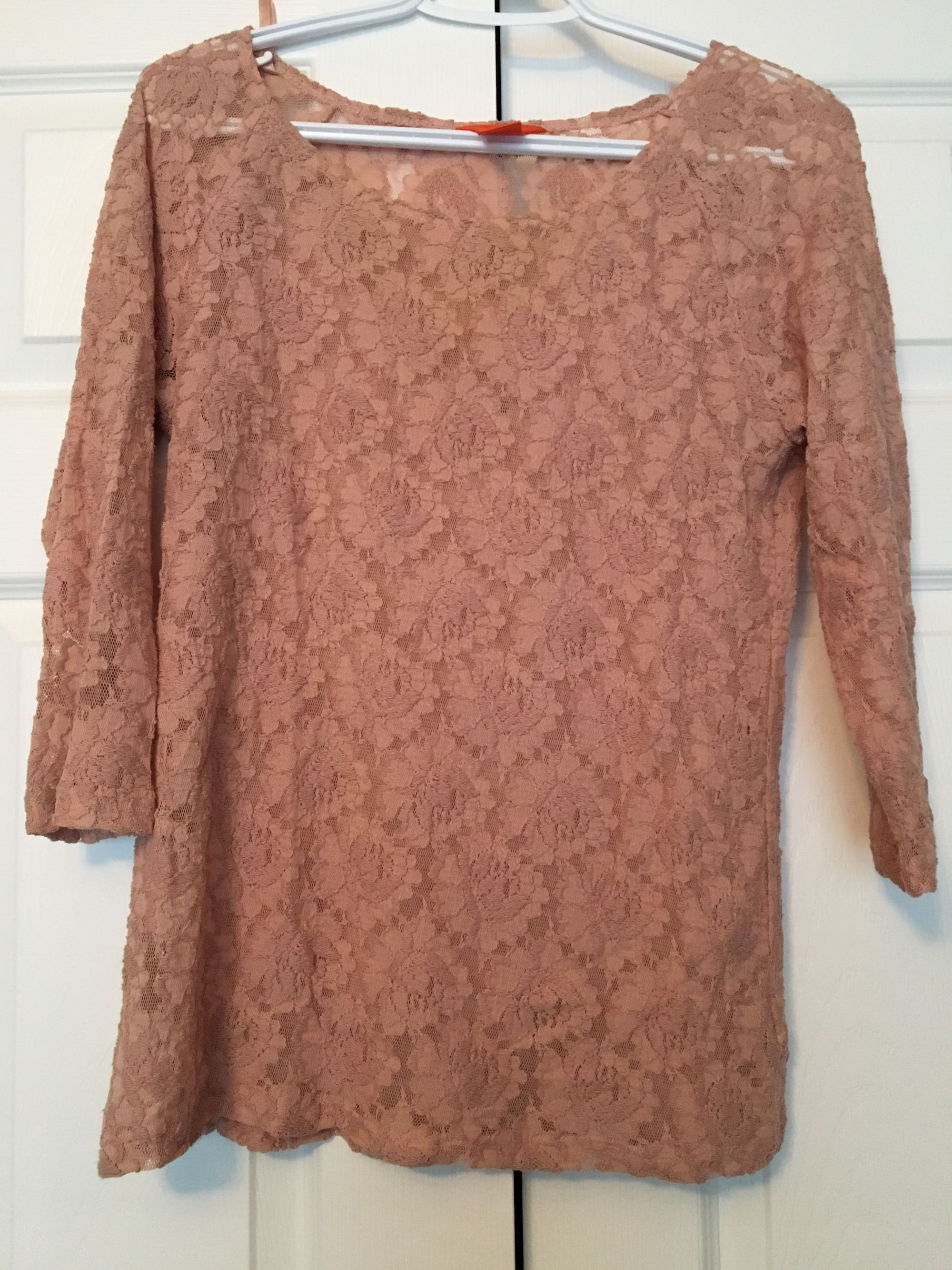 Joe Fresh lace top