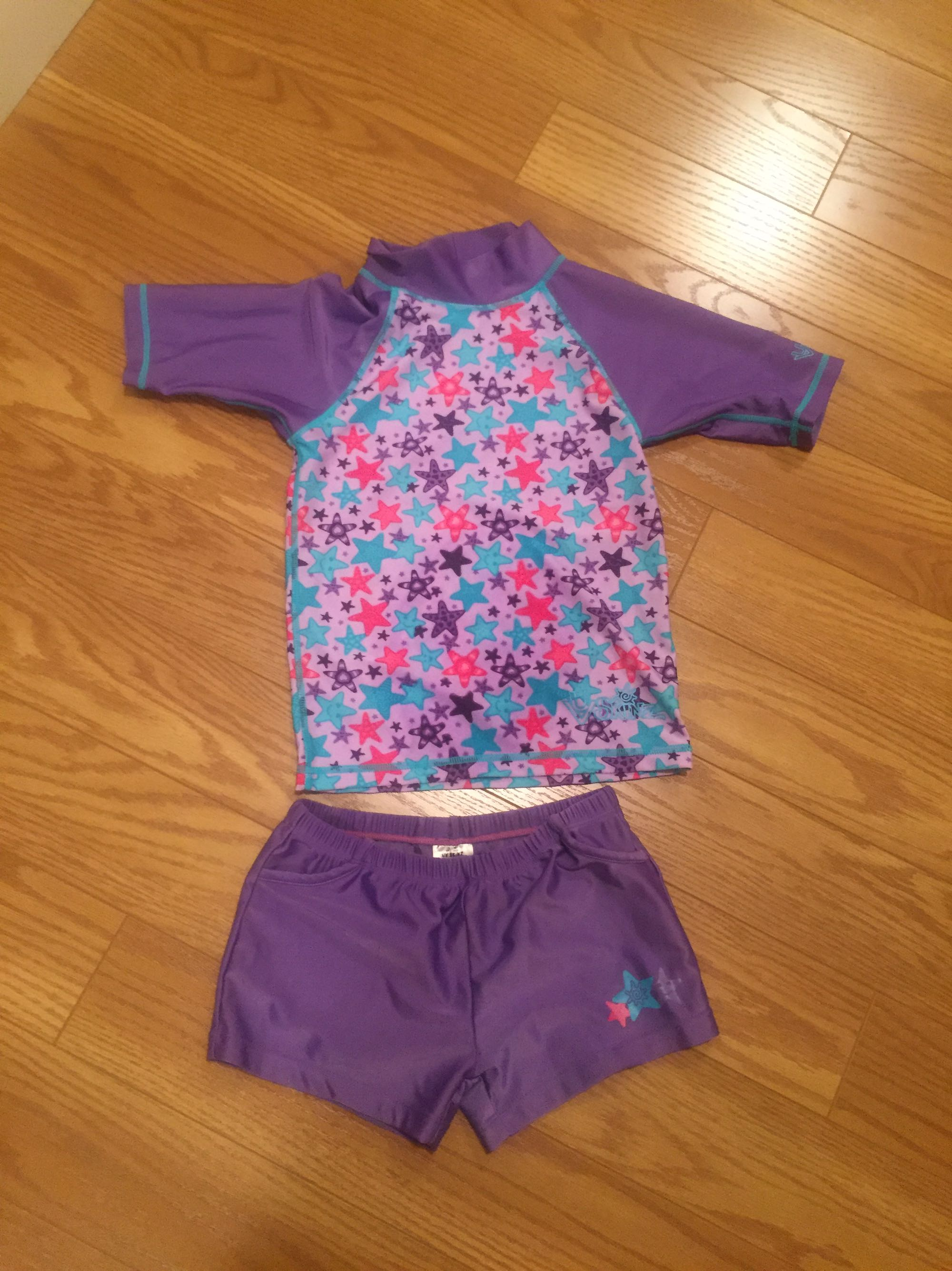 Size 6 two piece swimsuit