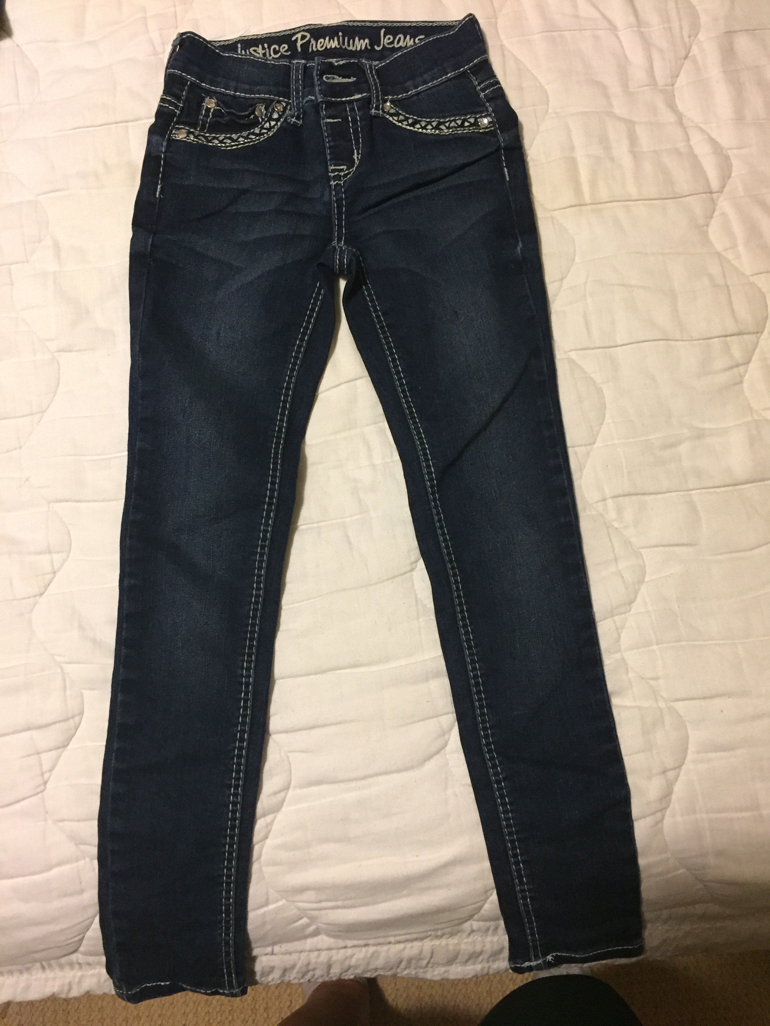Justice - Jeans Simply Low - Girls Size 10S