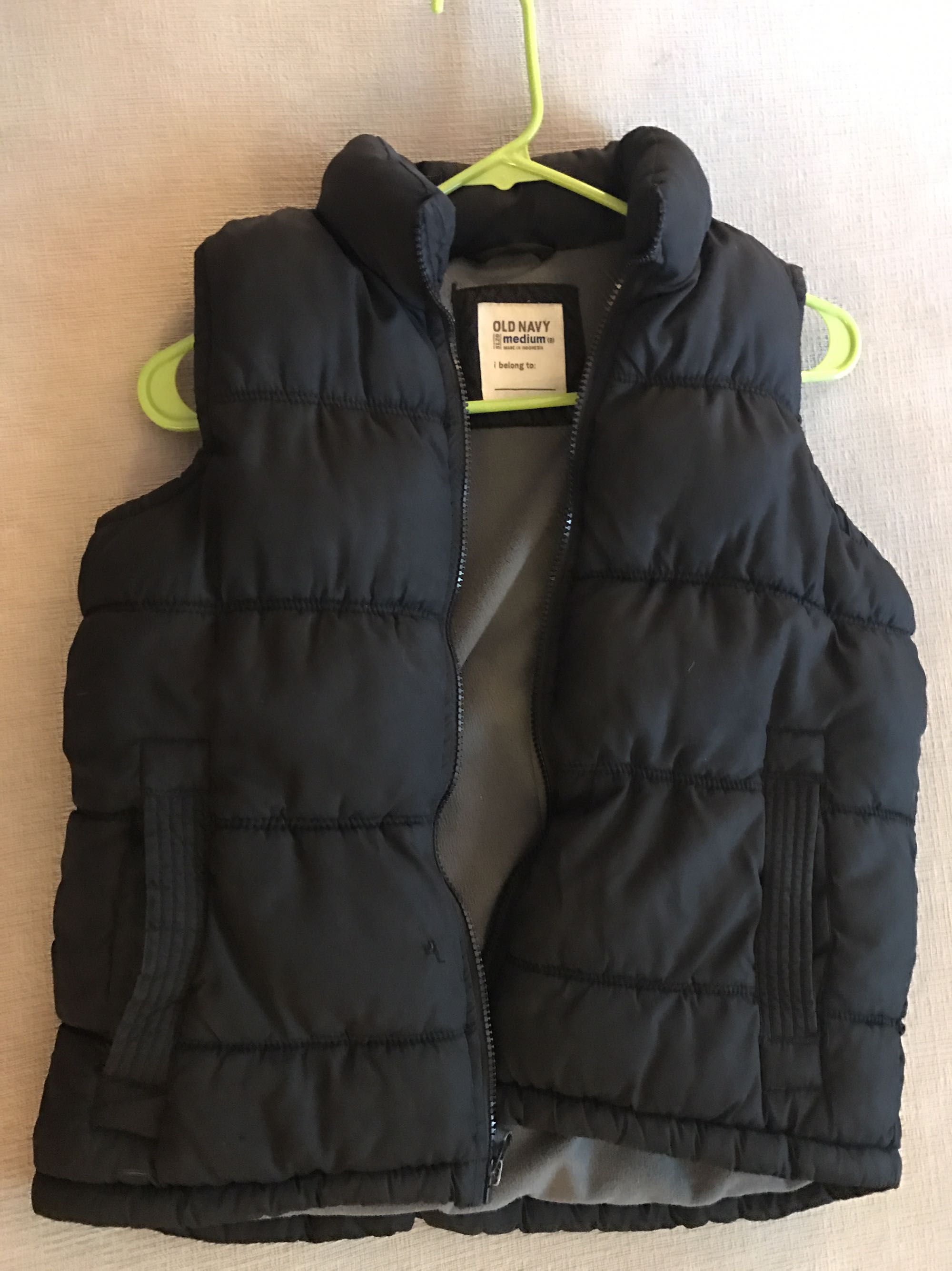 Boys fall / winter vest
