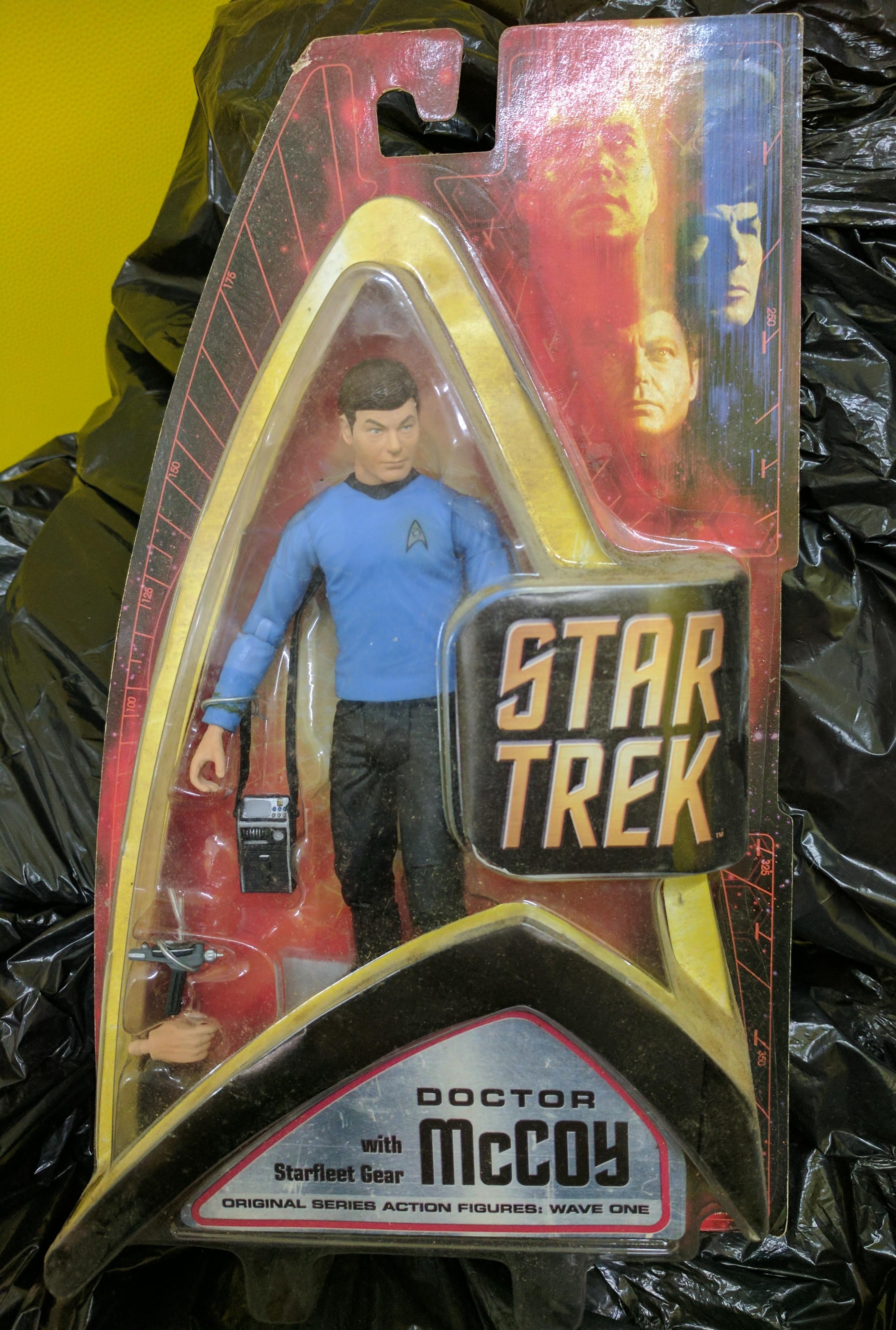 Star Trek Figures x 3