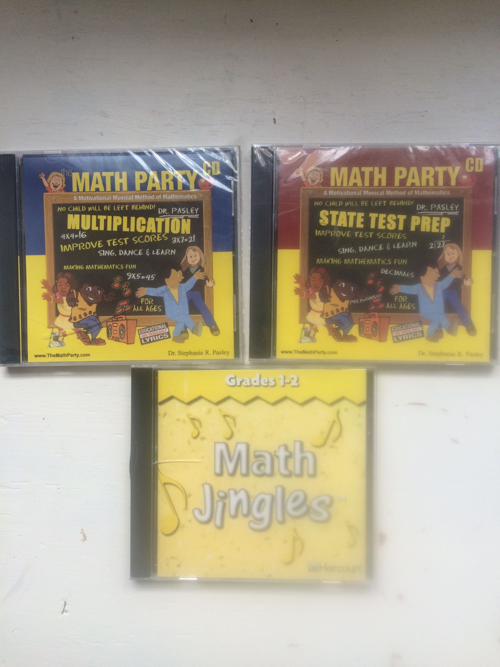 Math jingle CDs