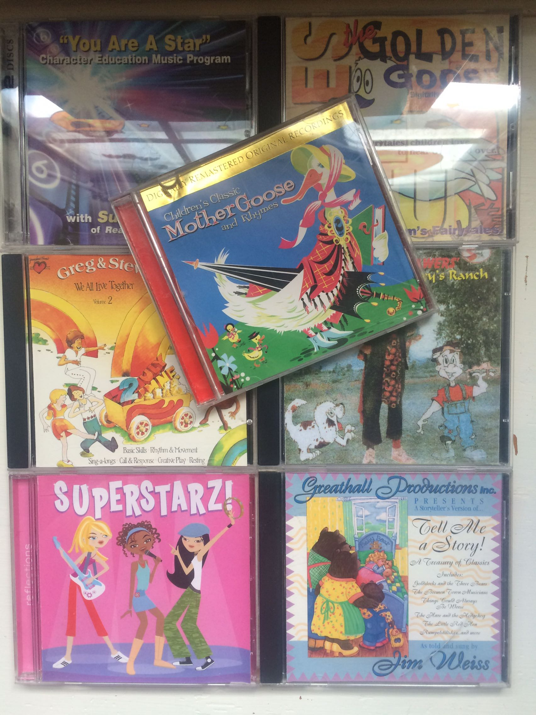 Childrens musical fun cds