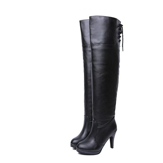 New Arrival Women's Winter High Heels Knee Boots.