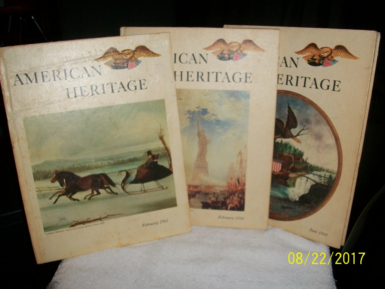 american heritage collection hardback books
