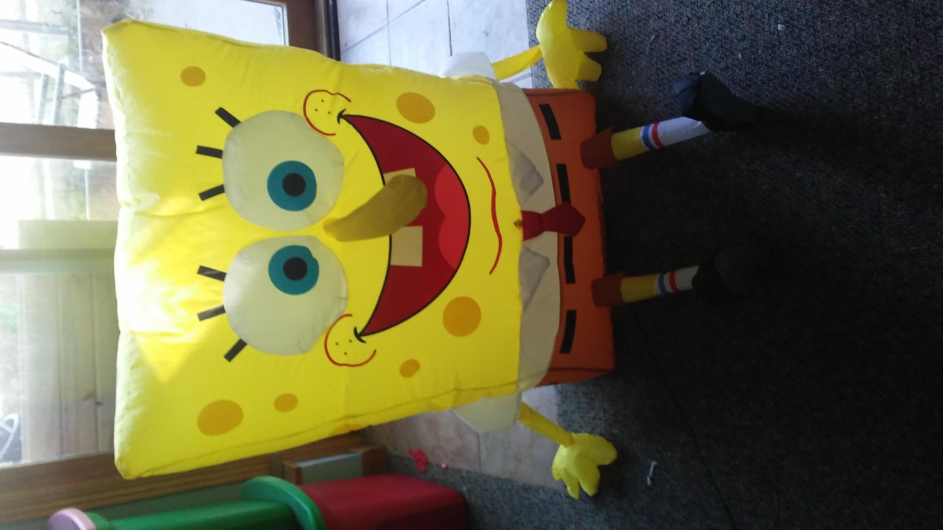 Talking Inflatable spongebob