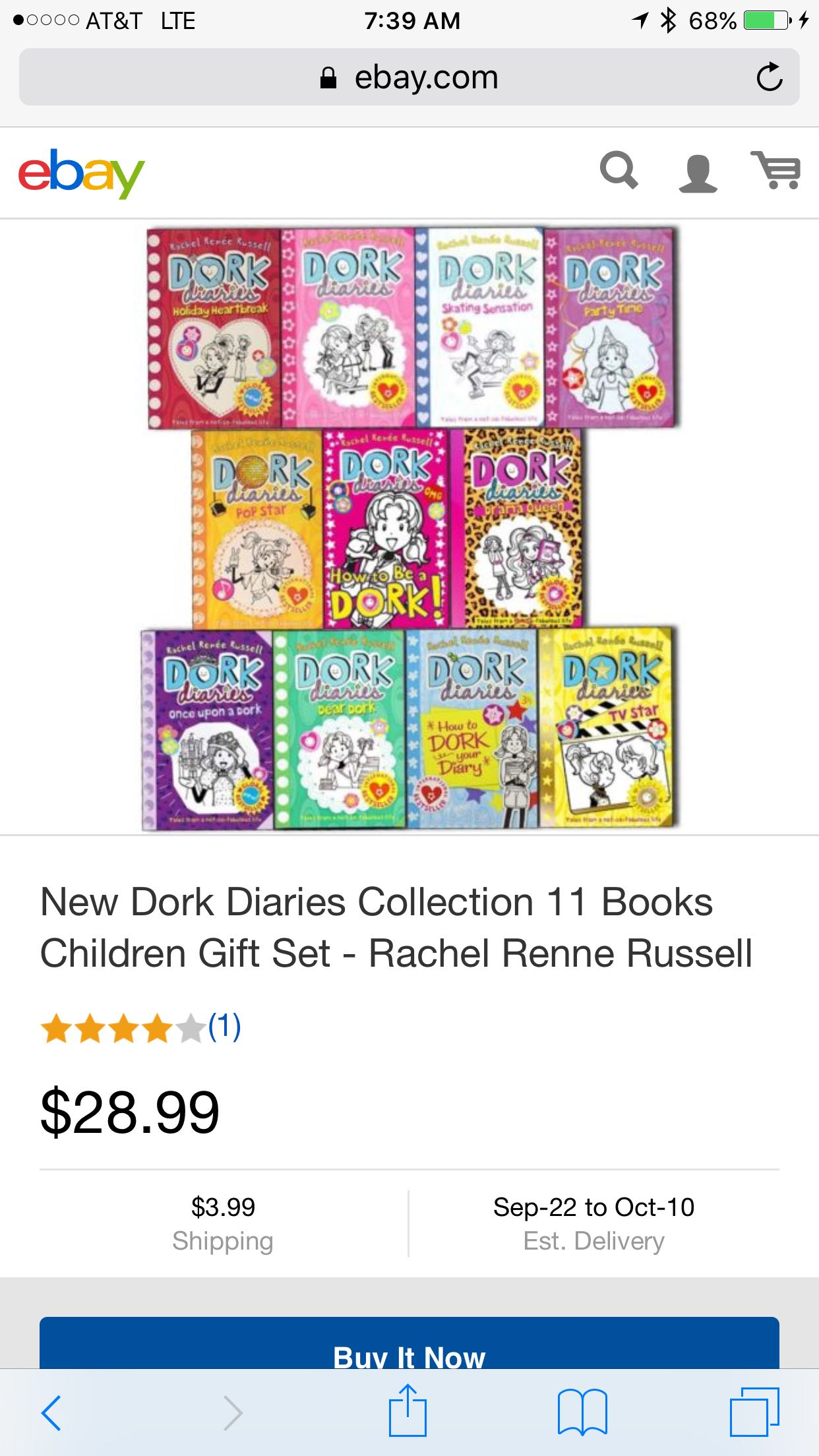 In search of Dork Diaries Books in good used condition