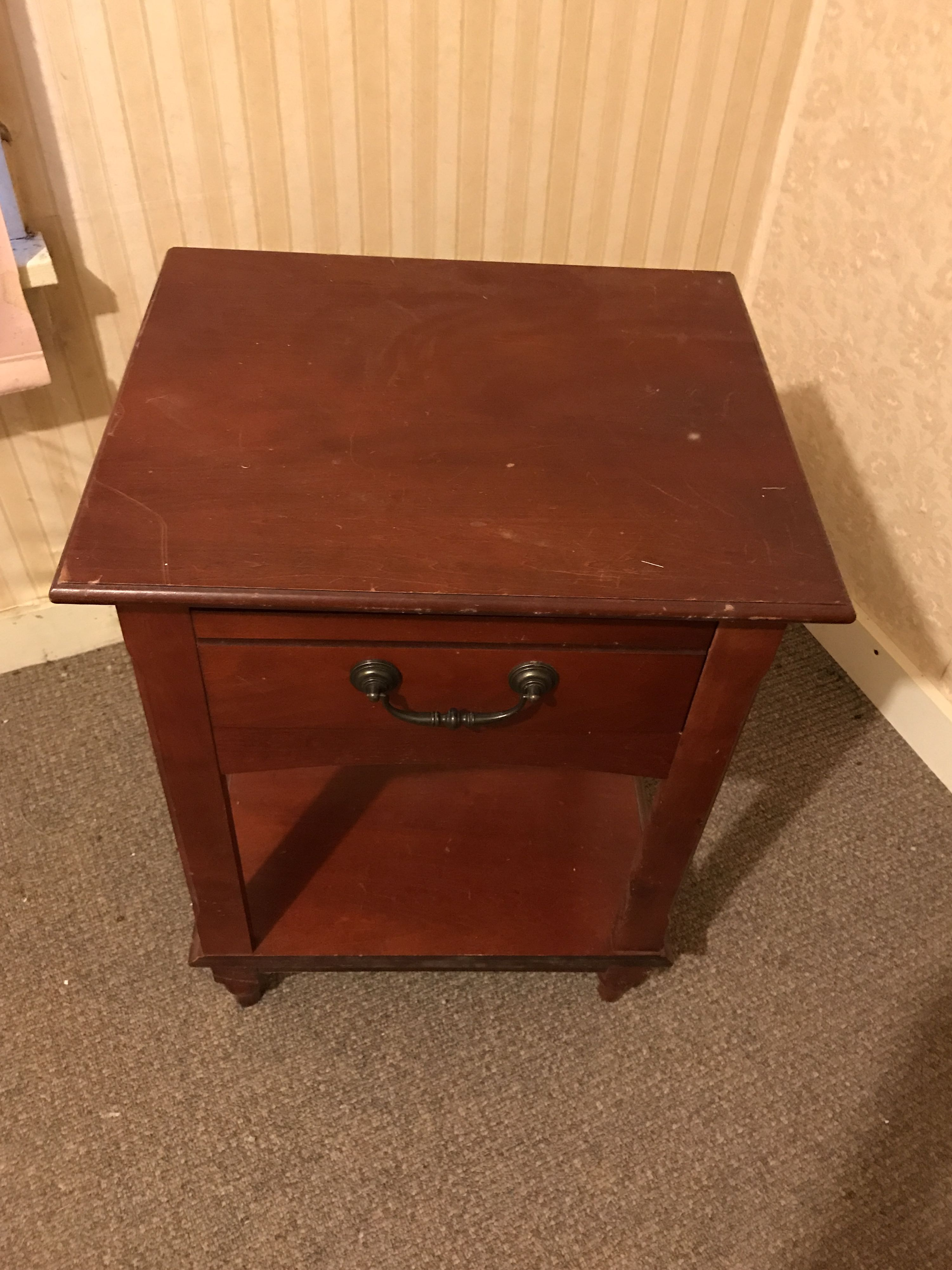 Heavy end table
