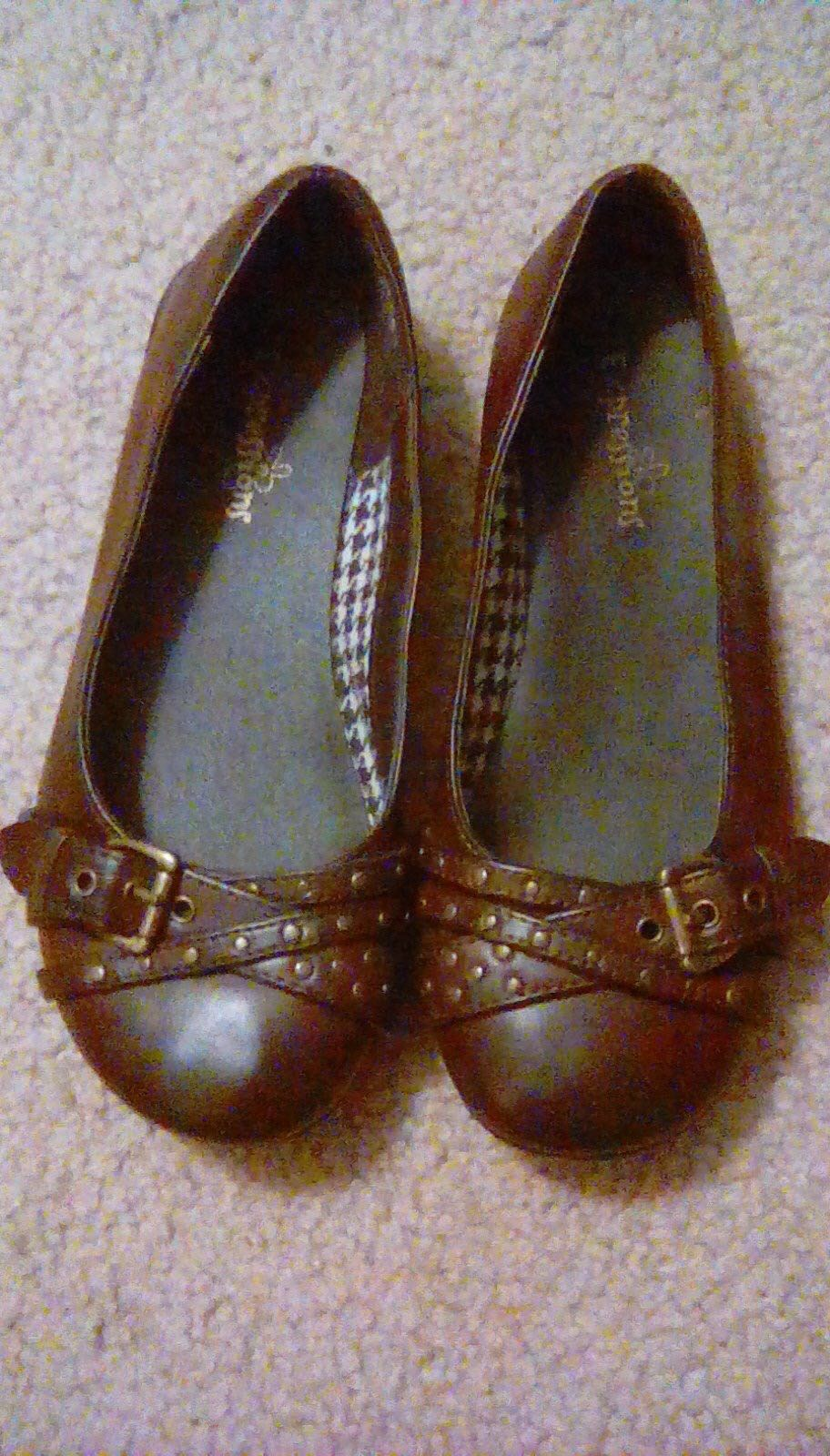 Brown Ballet Shoes