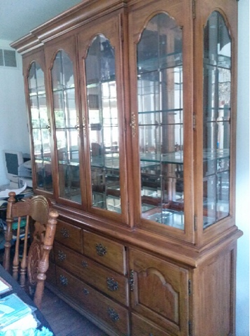 Thomasville Dining Room China Cabinet