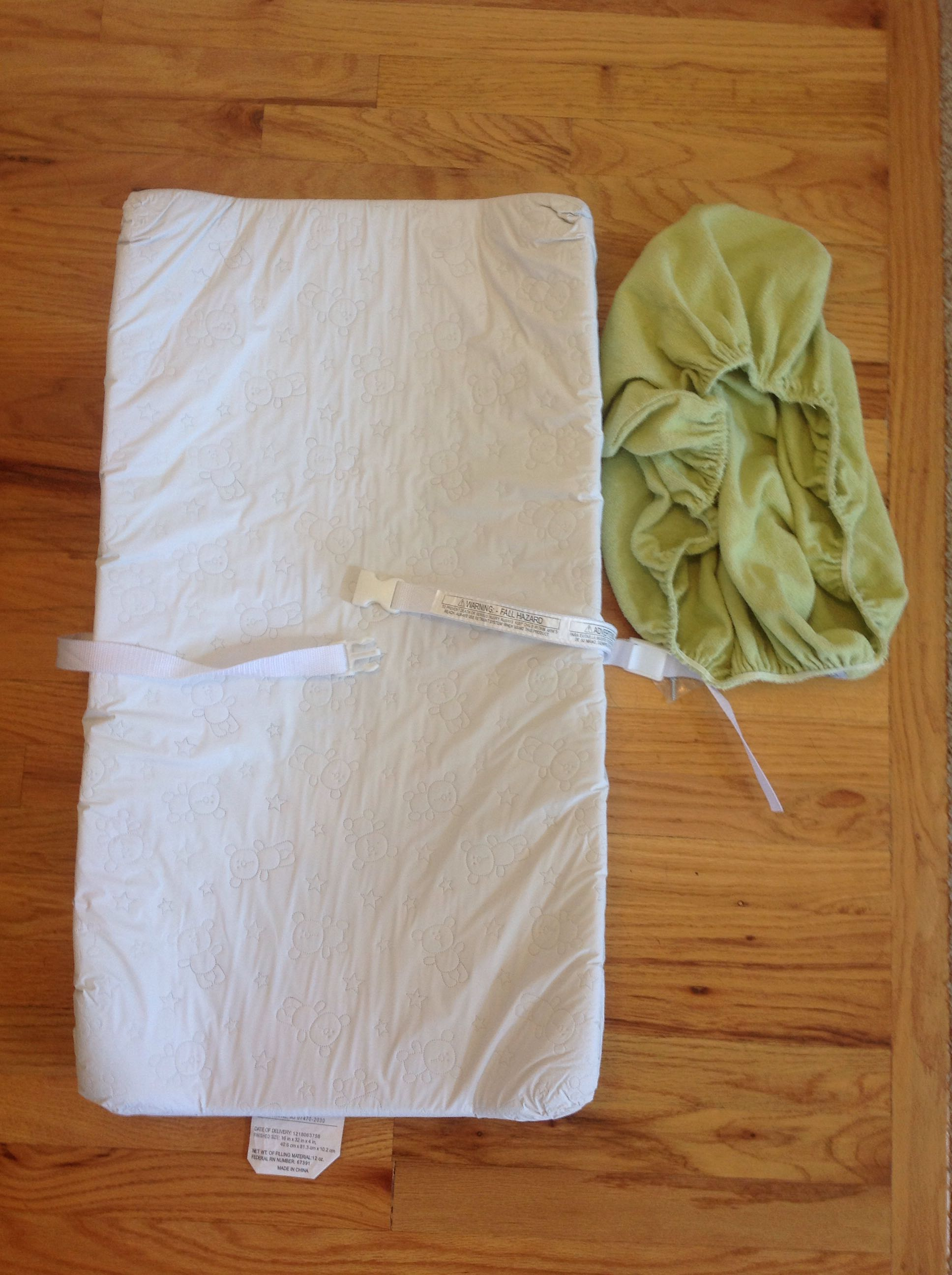 Changing pad and cover