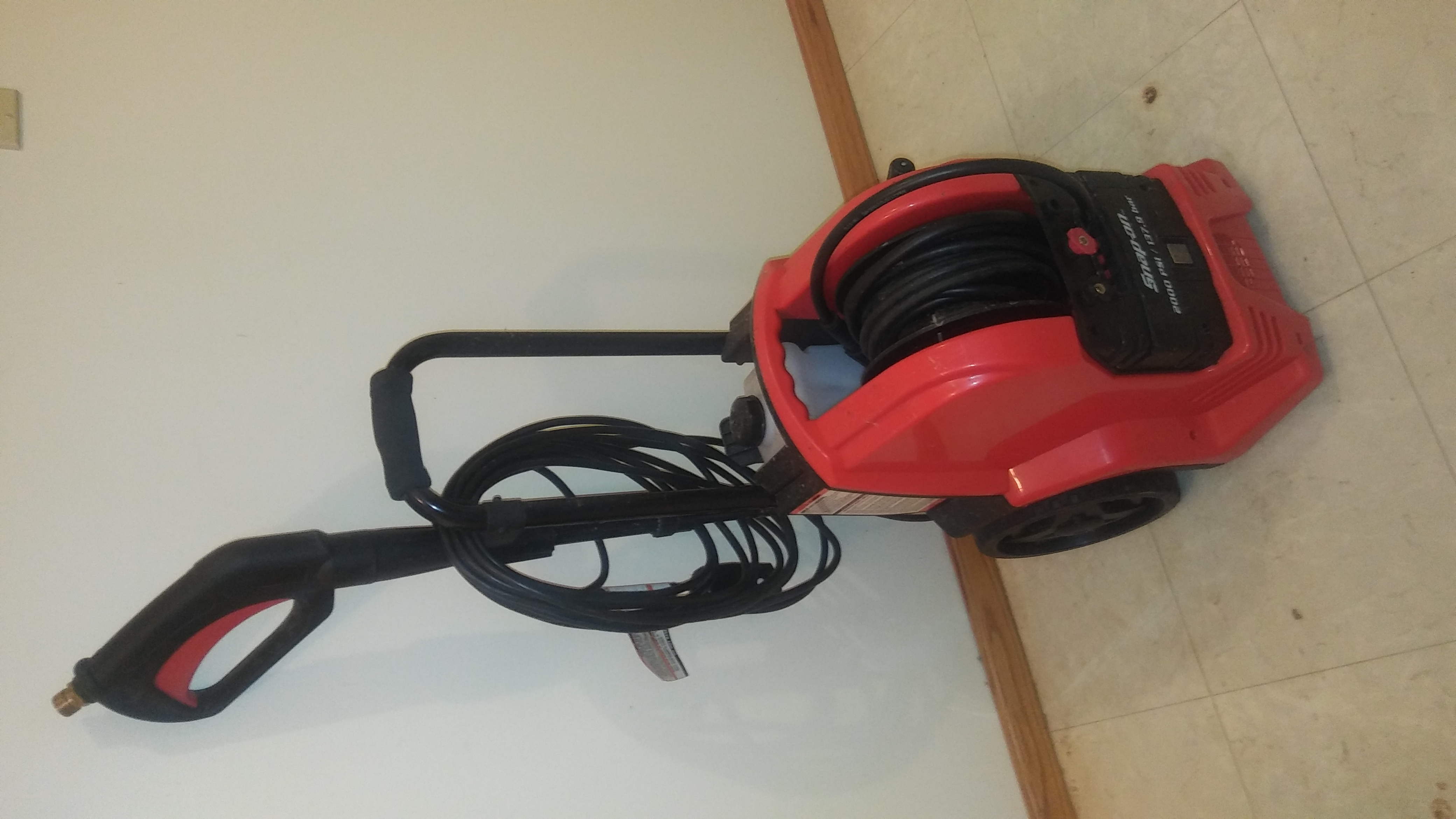 Snap-On Electric Power Washer 2000psi