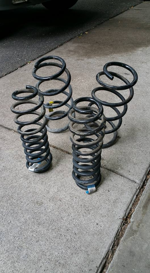 Coil Springs - 2005 Ford Mustang FT Premium