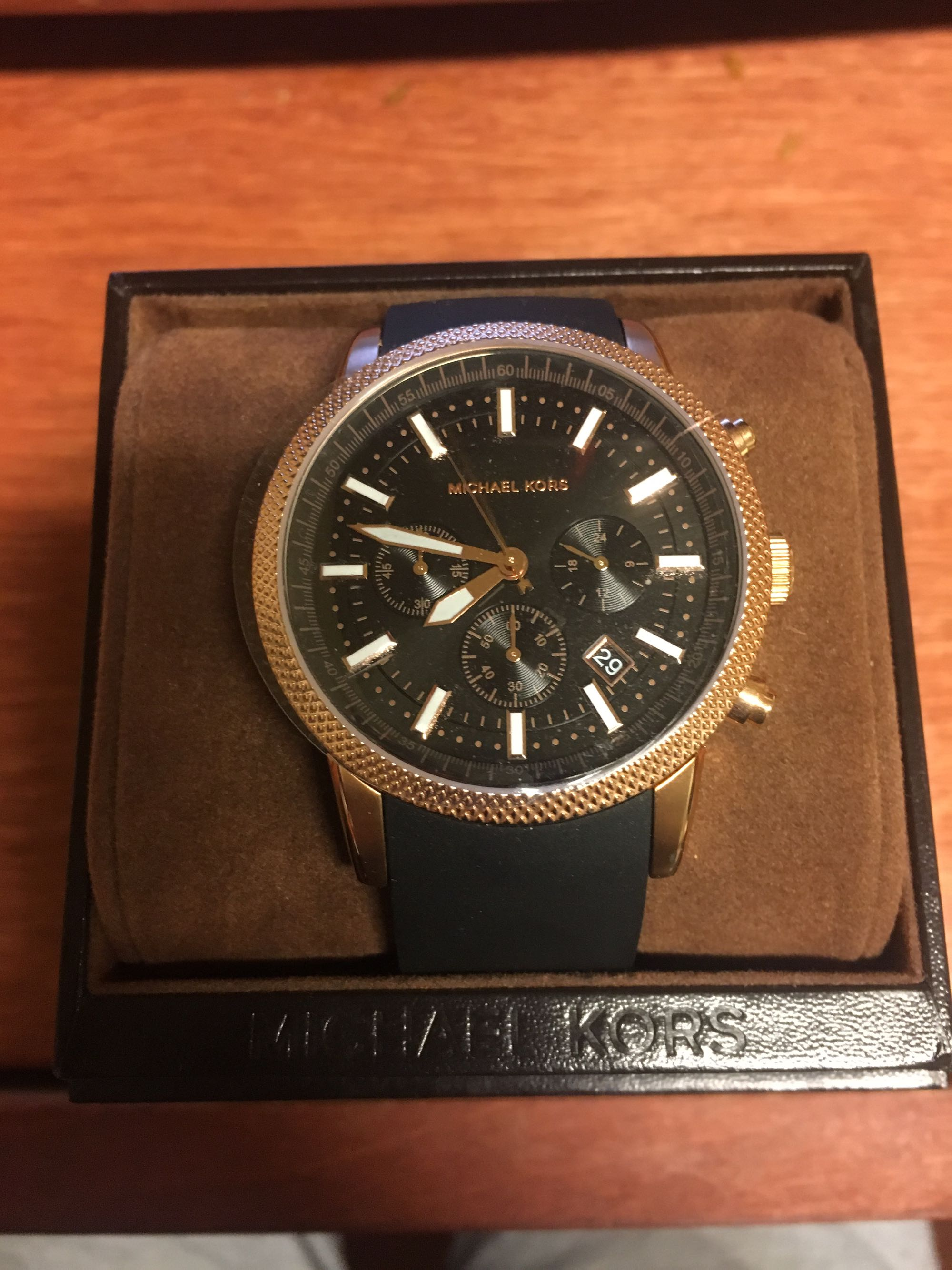 Michael Kors Men Rose Gold Watch