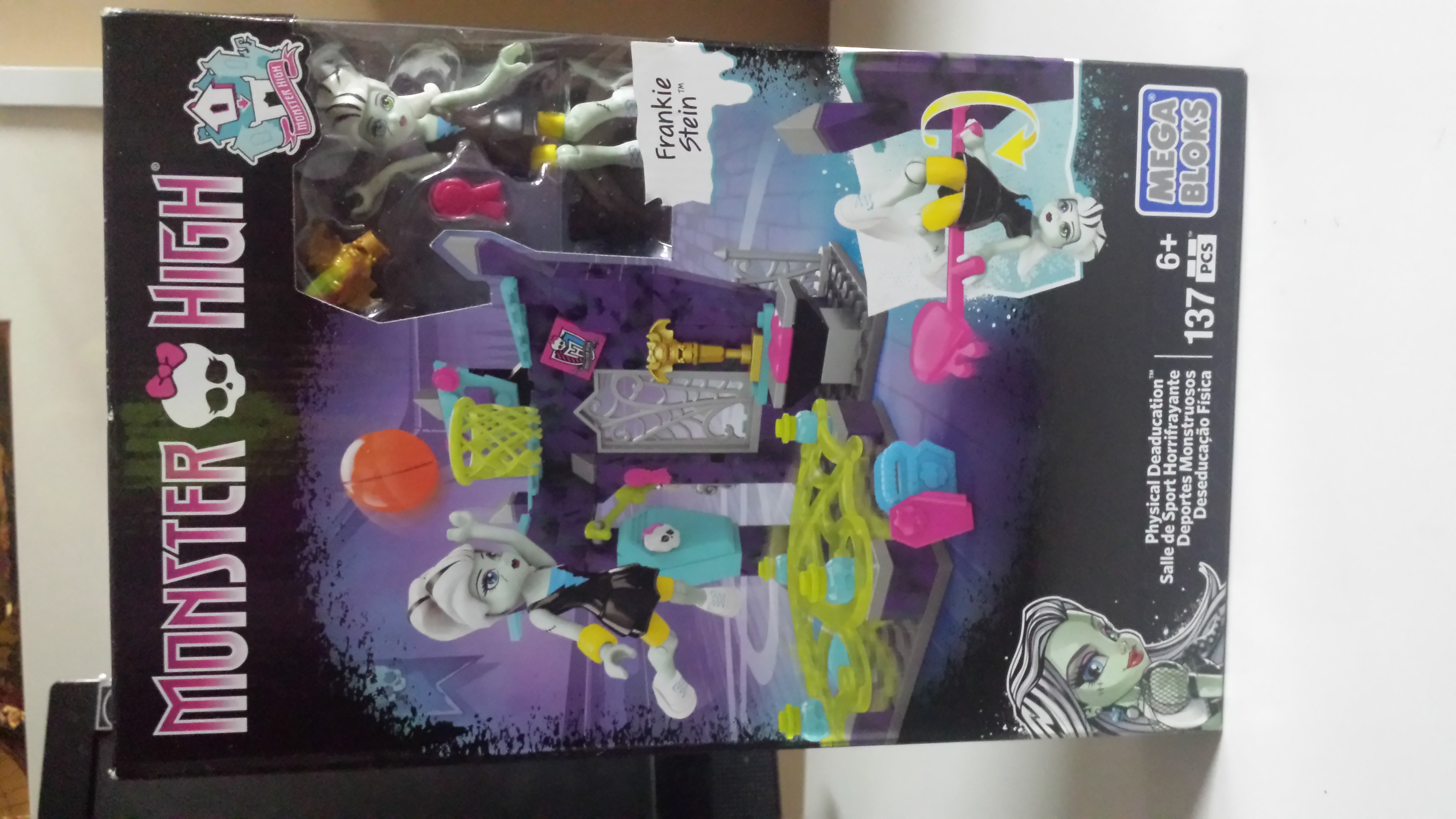 Monster High Frankie Stein Physical Deaducation